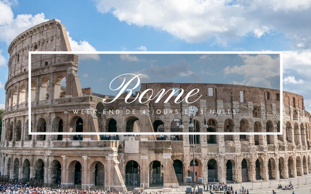 Partir en week-end à Rome