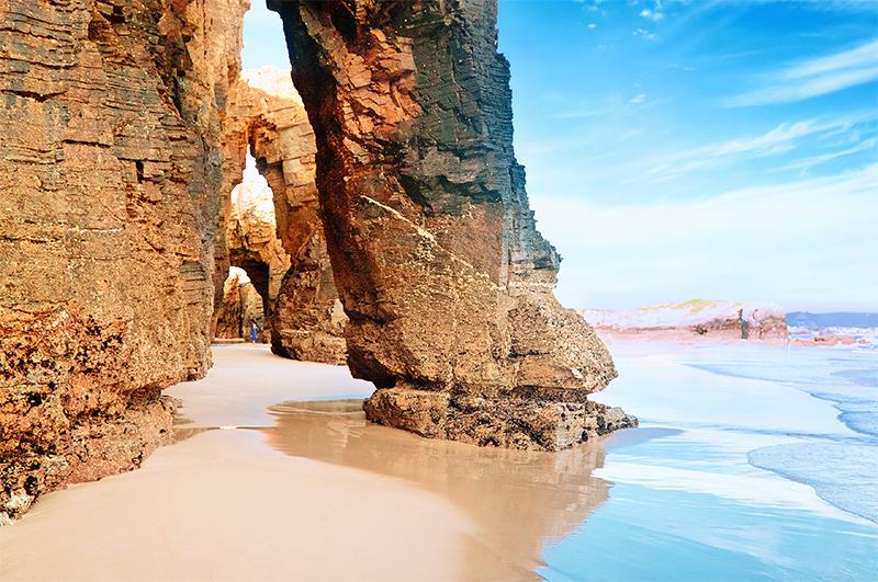 Plage des Cathédrales, Espagne - Top 10 des plus belles plages d'Europe
