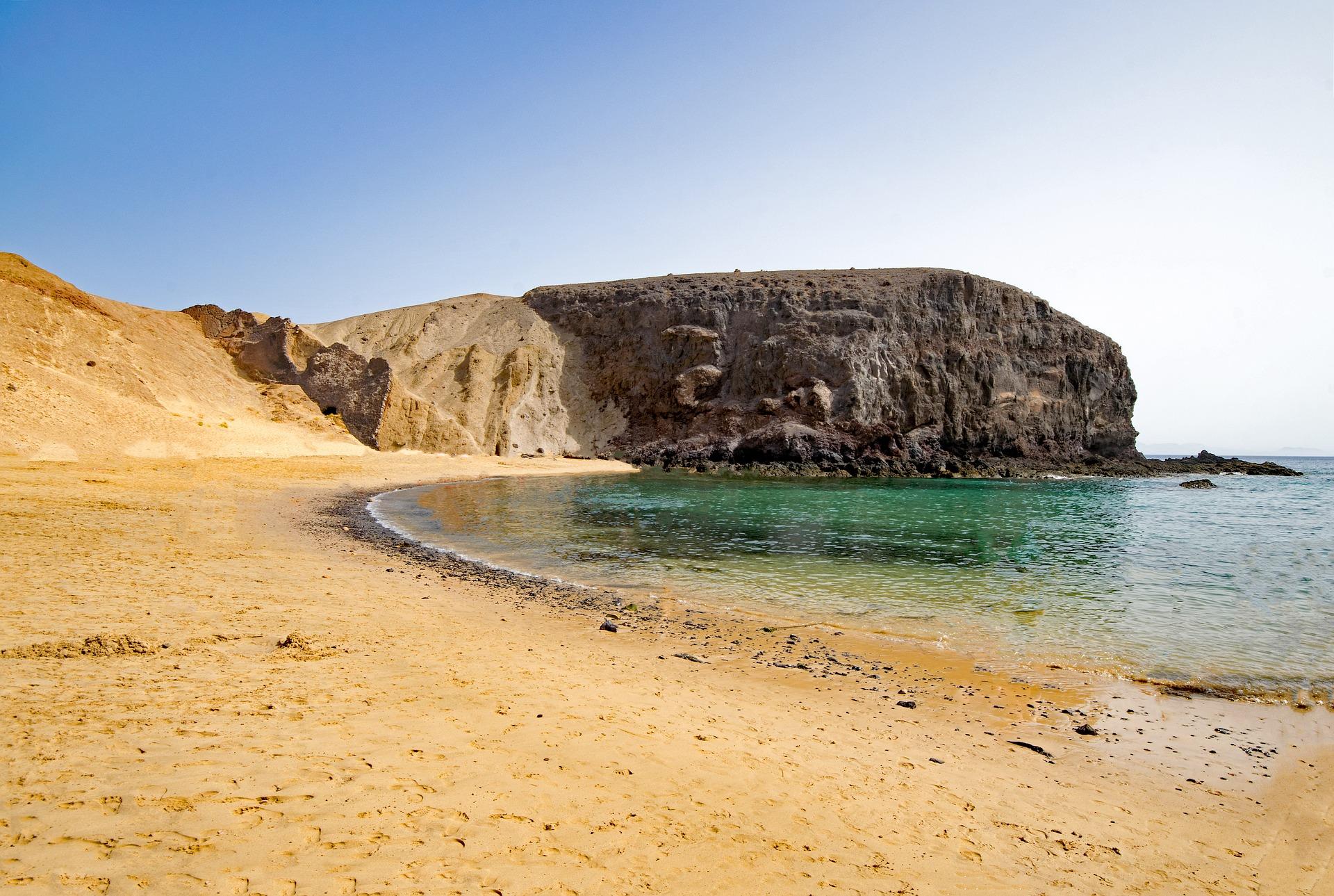 Lanzarote - Playa del Papagayo