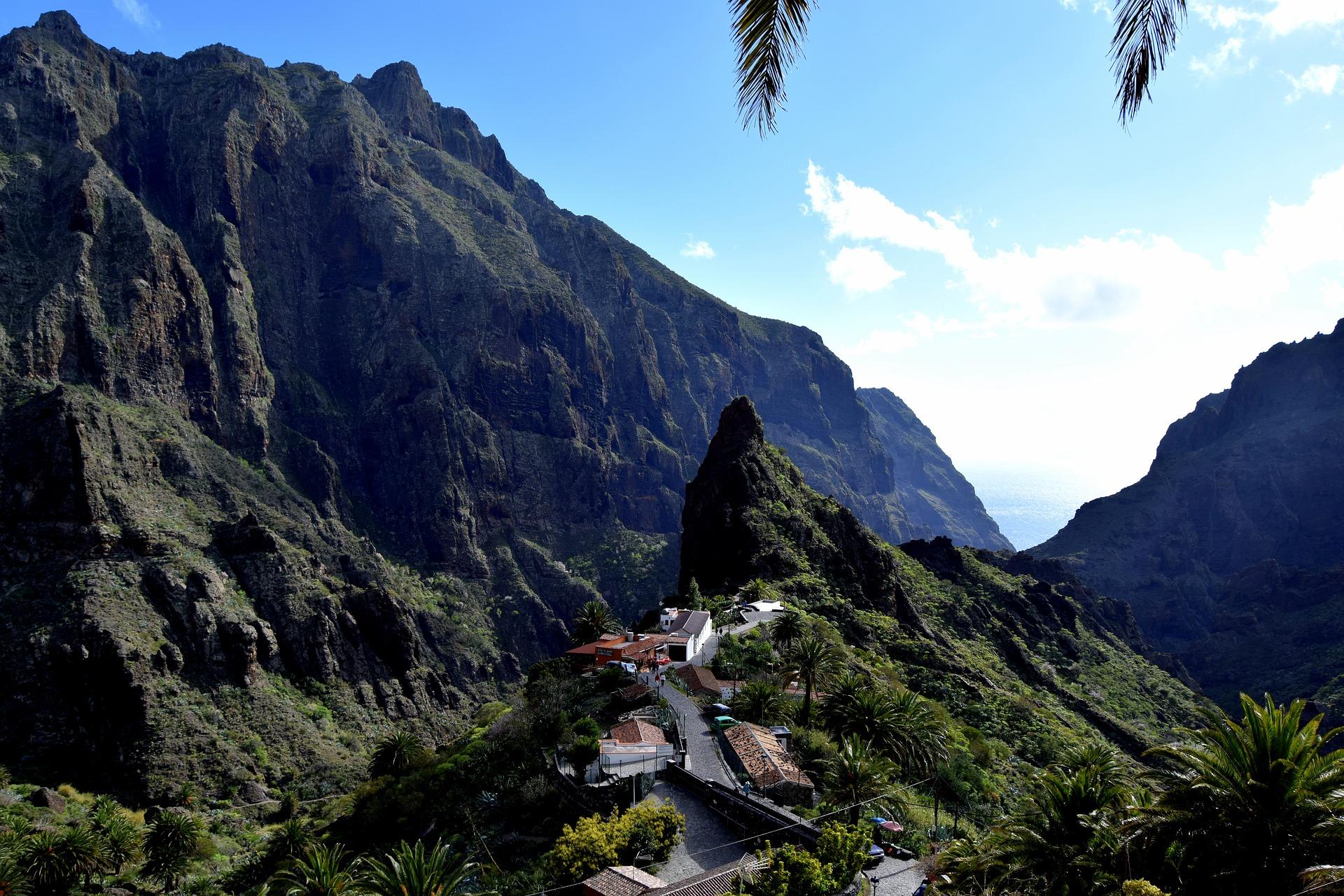 Tenerife ou Lanzarote - Ravin Masca
