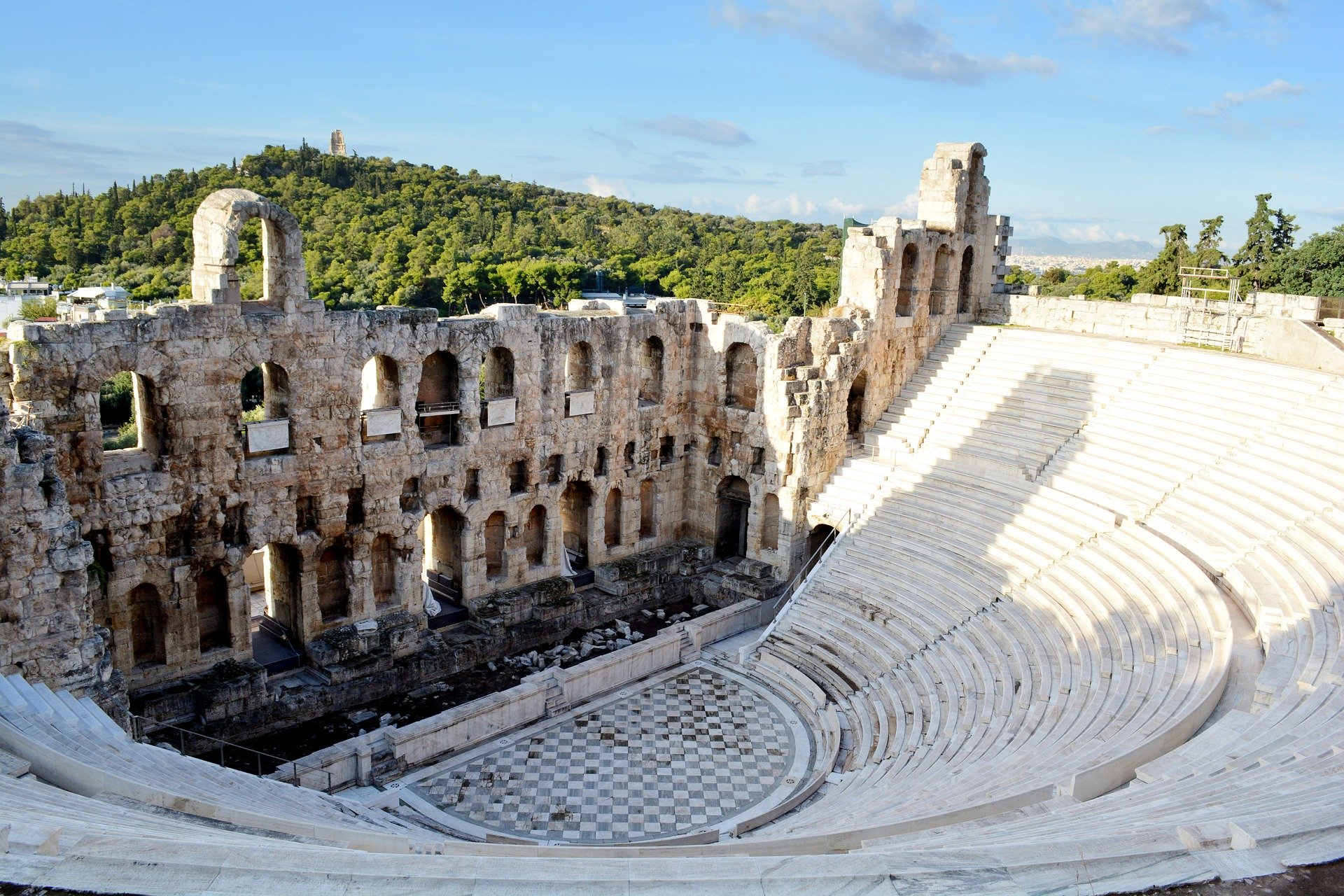 Théâtre de Dionysos - Circuit en Grèce continentale
