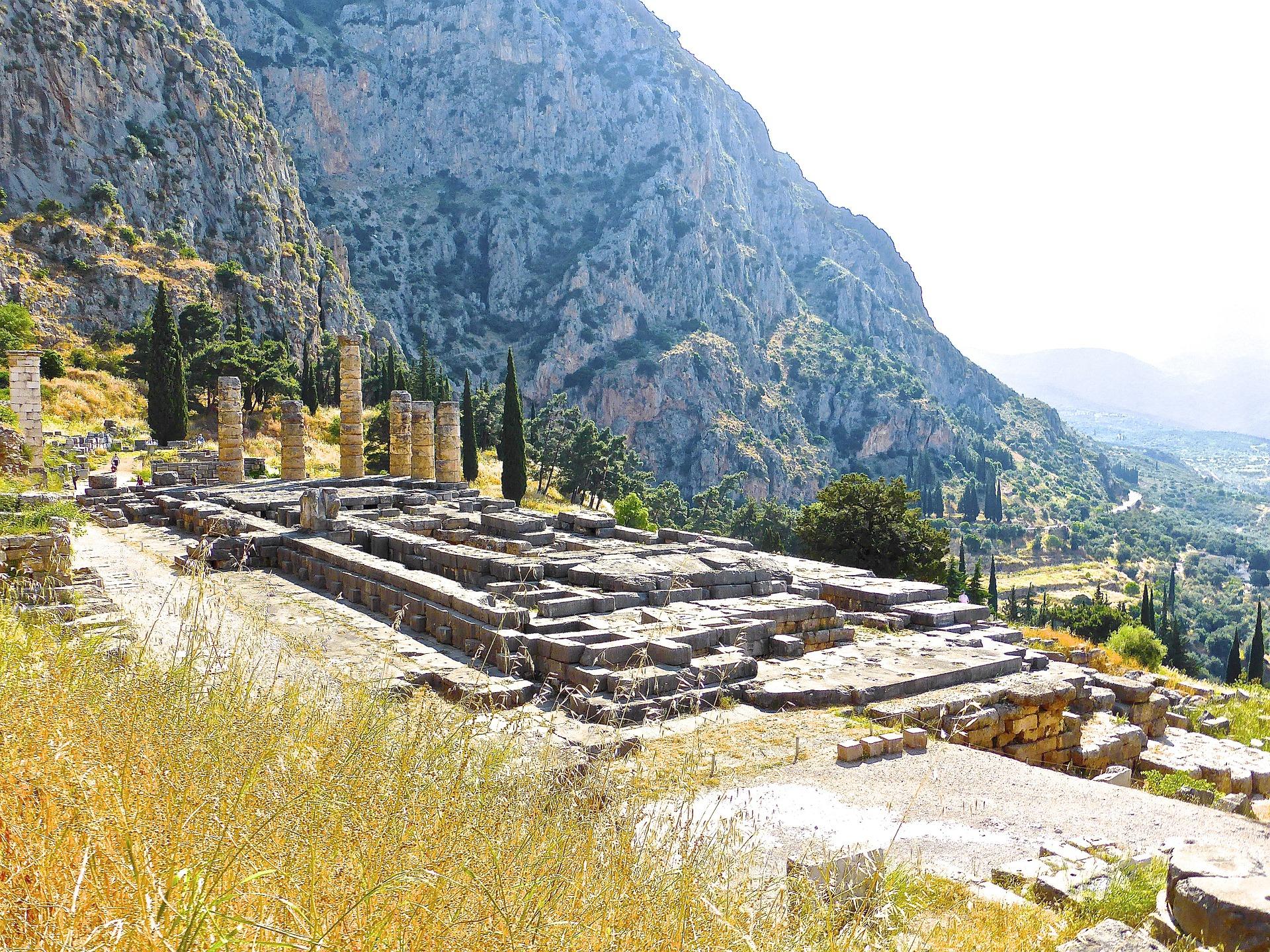 Delphes, grèce antique - Circuit en Grèce continentale