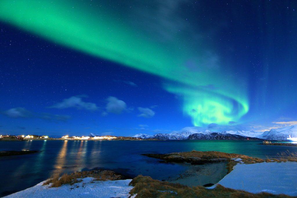 Tromso, Aurores Boréales - Norvege Suede ou Finlande