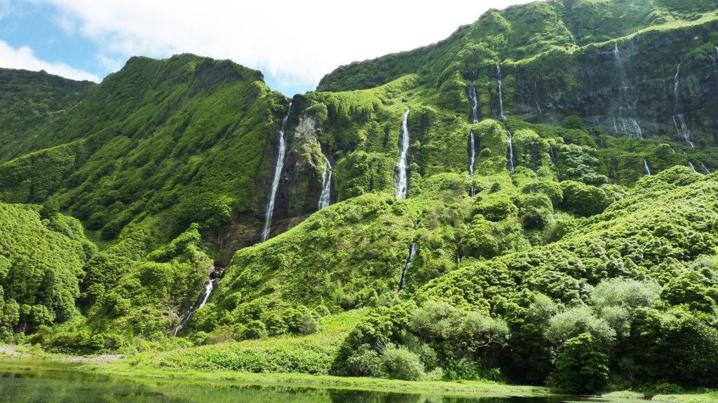 Açores ou Madère - Cascades aux Açores