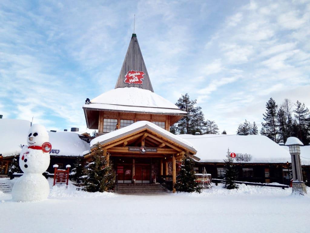 Rovaniemi, Village de Père Noel en Finlande - Norvege Suede ou Finlande