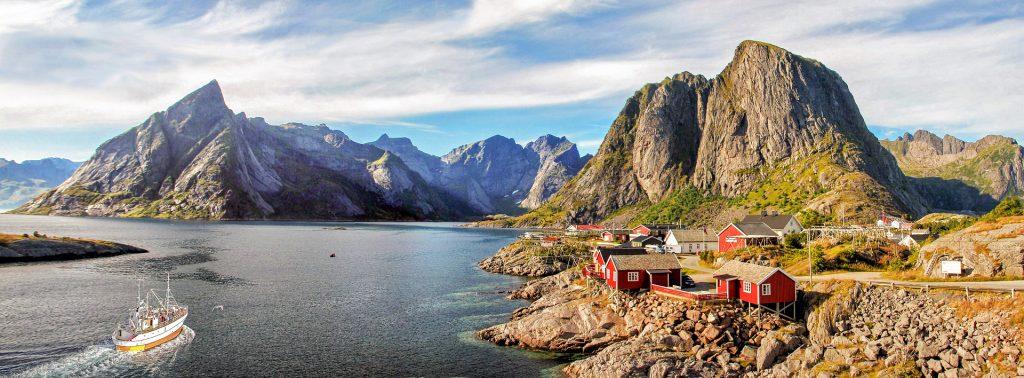 Les îles Lofoten - Norvege Suede ou Finlande