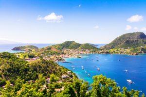 Les Saintes-îles accessibles en bateau depuis la Guadeloupe - Vacances Hiver