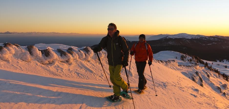 station ski familiale raquettes les rousses