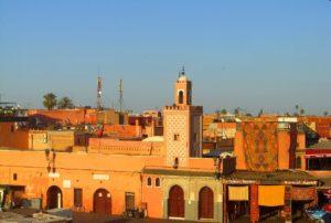 mosquée medina week-end à marrakech